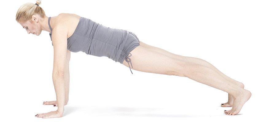 Kumbhakasana asany na wzmocnie ciała