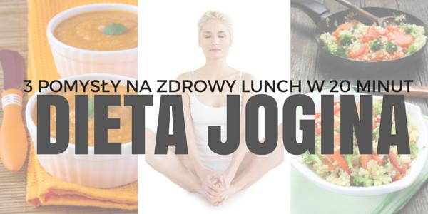 dieta jogina 3 lunch