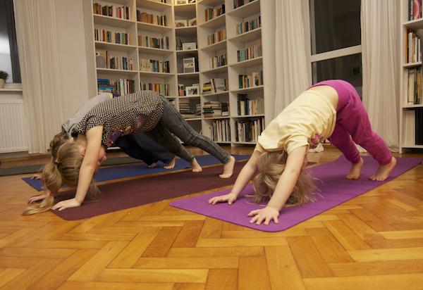 joga zdziećmi