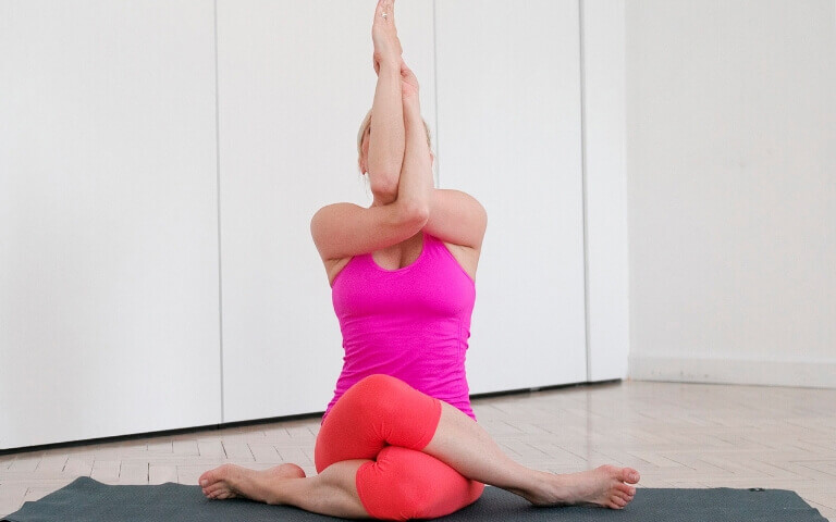 joga na kręgosłup