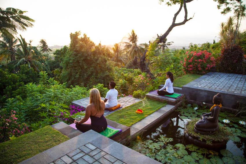miejsca do nauki medytacji