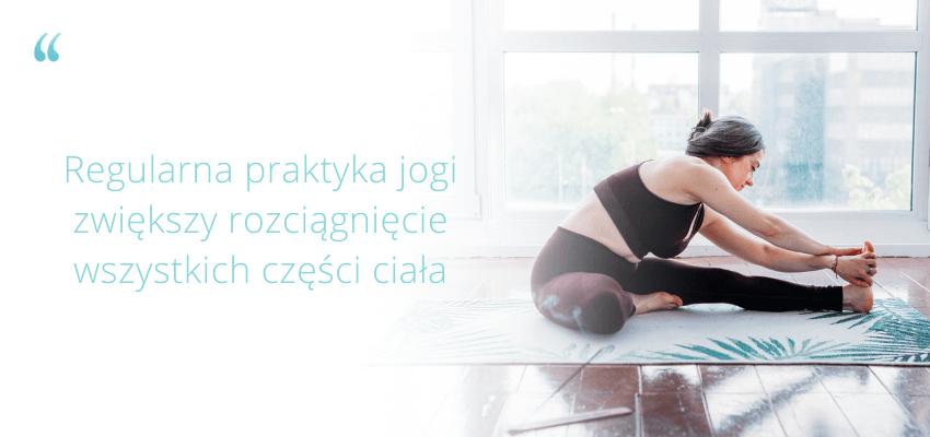 elastyczność joga