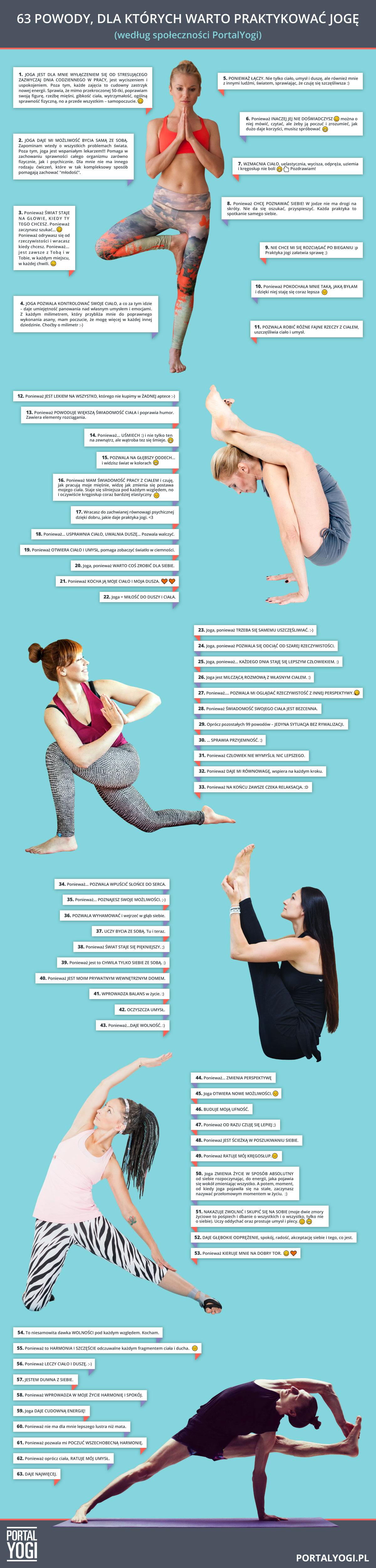 powody, dla których warto praktykować jogę