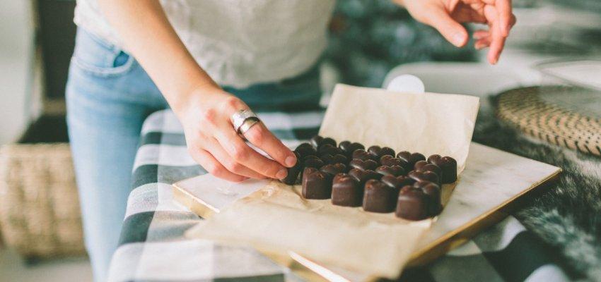medytacja czekoladowa