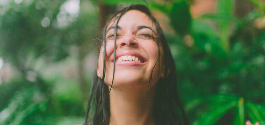 uśmiech radość szczęście