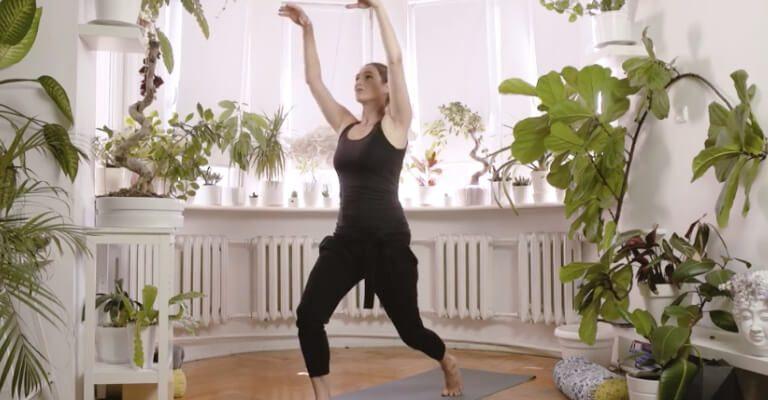 Yin joga skrzydlaty smok