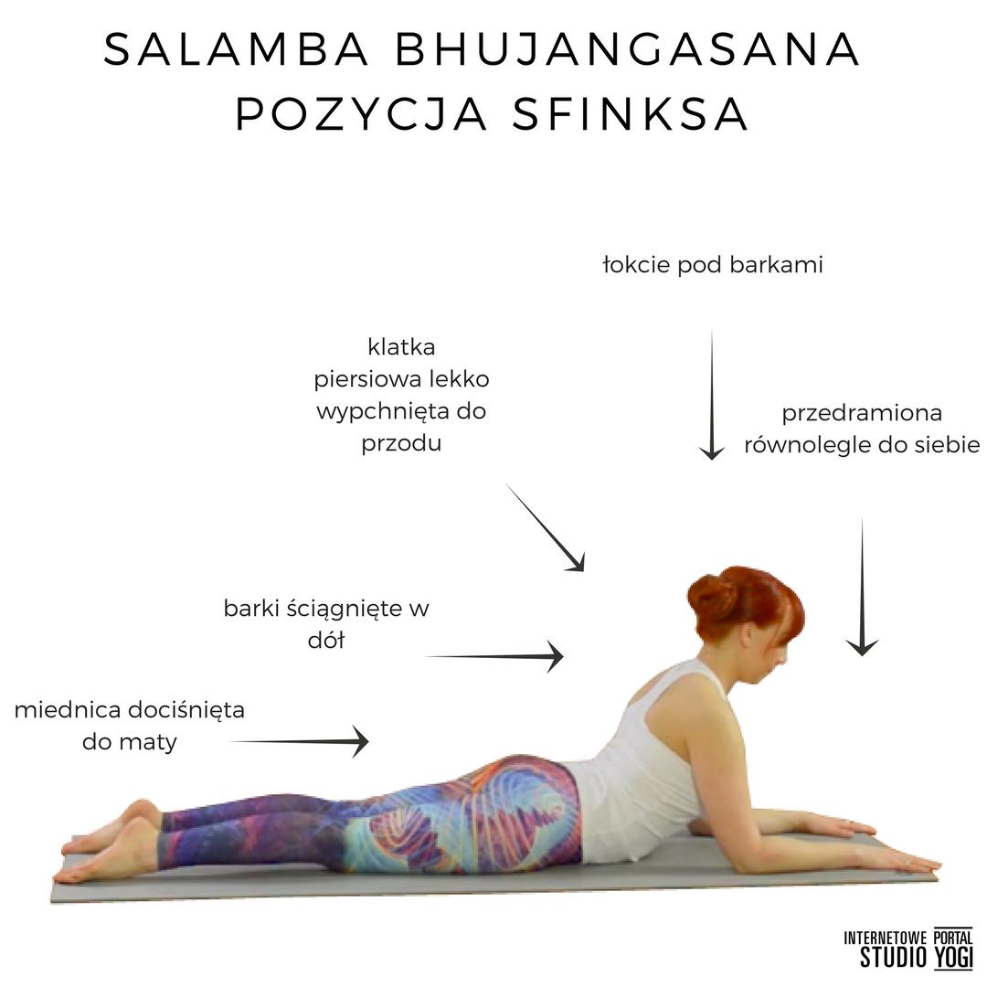 salamba bhujangasana pozycja kobry