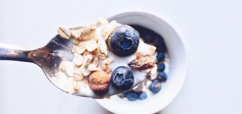 śniadanie przed jogą