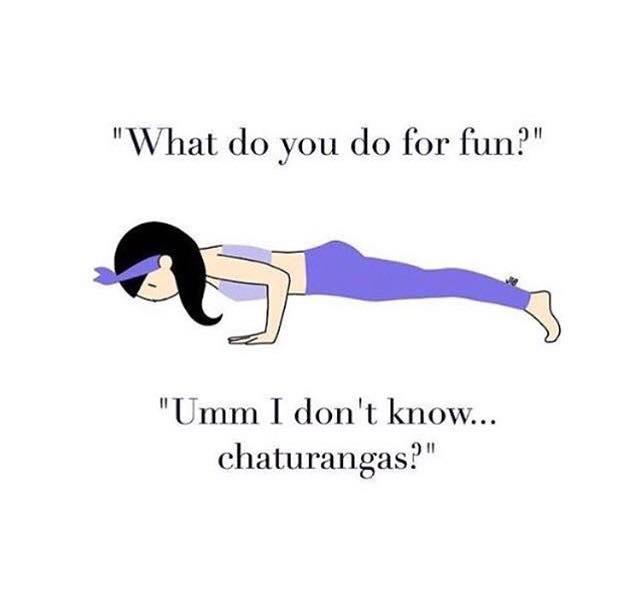 Chaturanga Dandasana