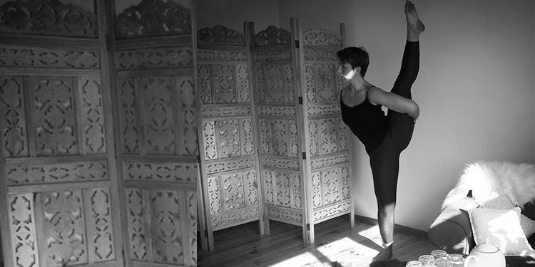 rajski ptak pozycje balansowe joga