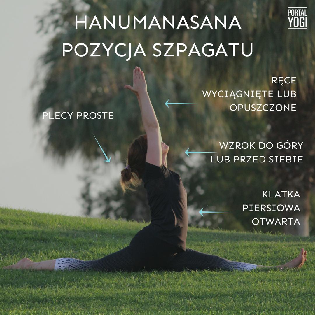 Hanumanasana – Pozycja Szpagatu - PortalYogi