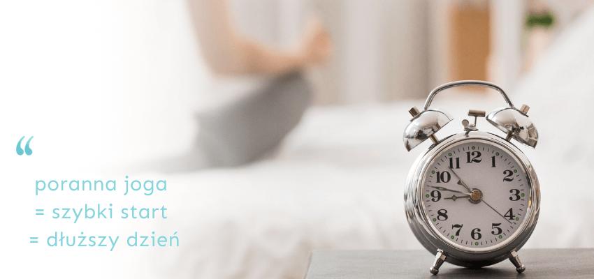 joga rano czy wieczorem