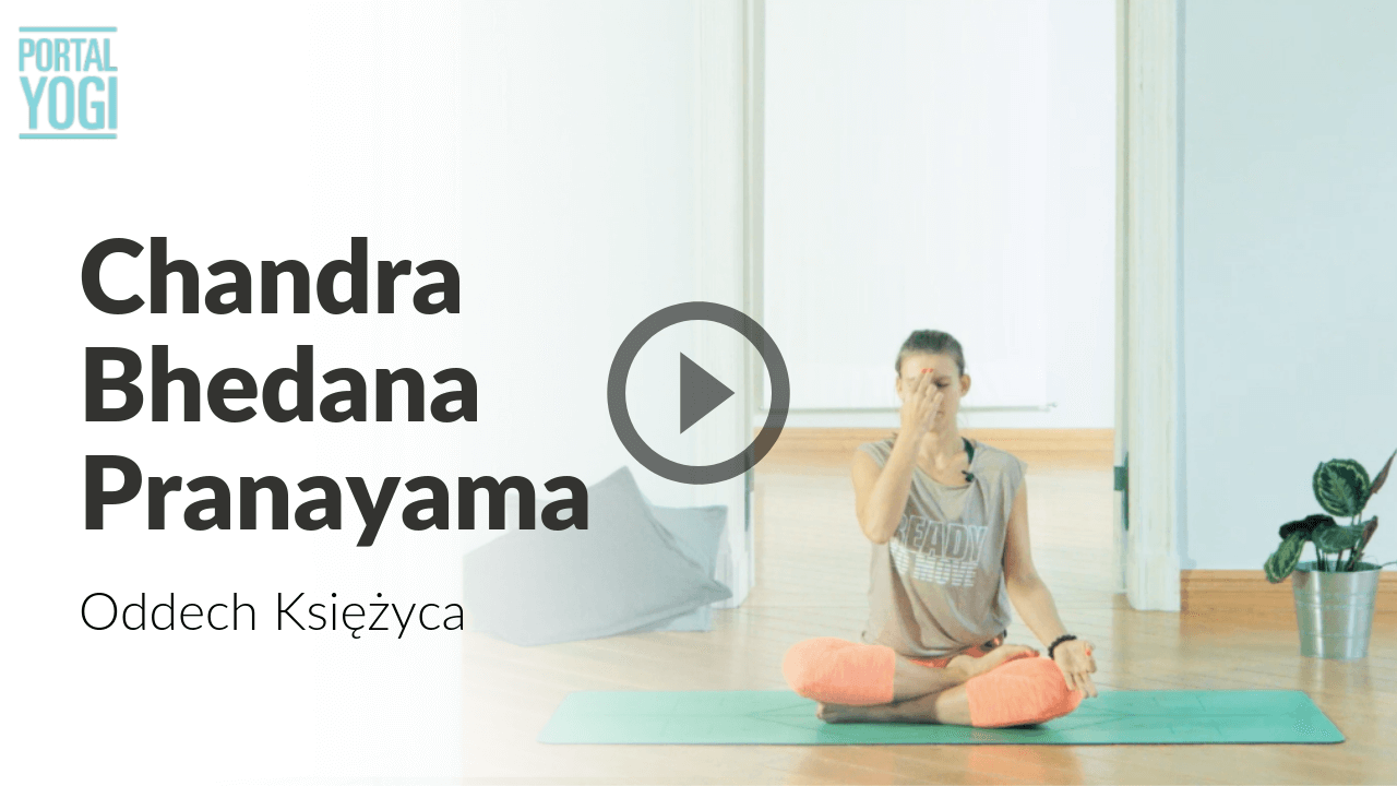 Chandra Bhedana Pranayama – Oddech Księżyca