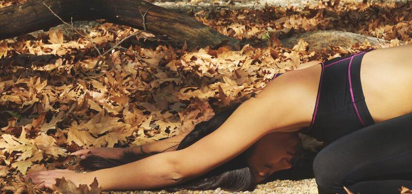 joga jesienią