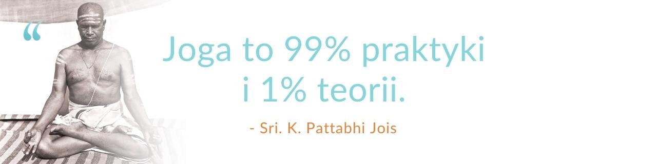 cytat Pattabhi Jois