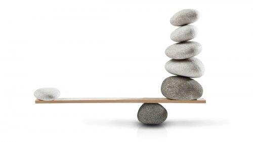 balans mięśniowy ilustracja