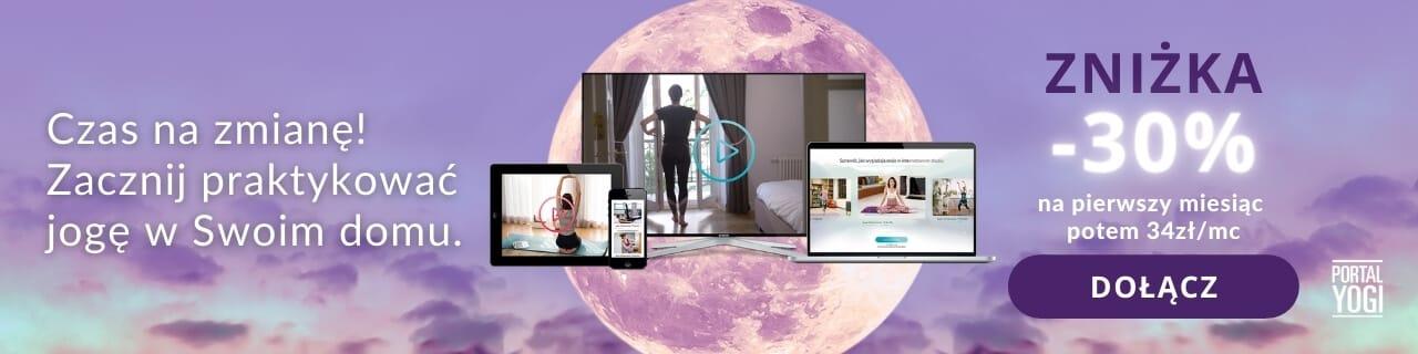 księżyc banner pełnia - dołącz do Studio PortalYogi